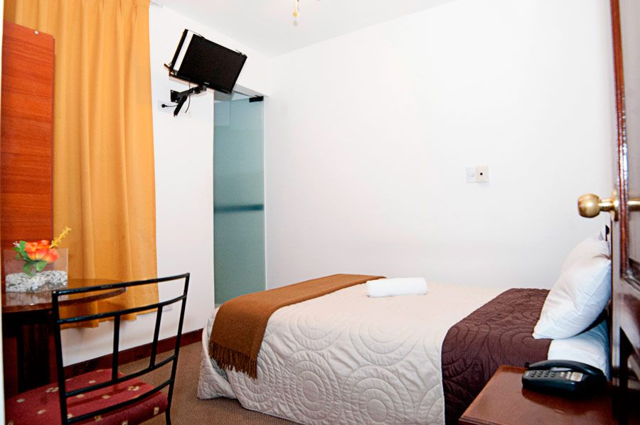 habitacion simple mc hotel ica